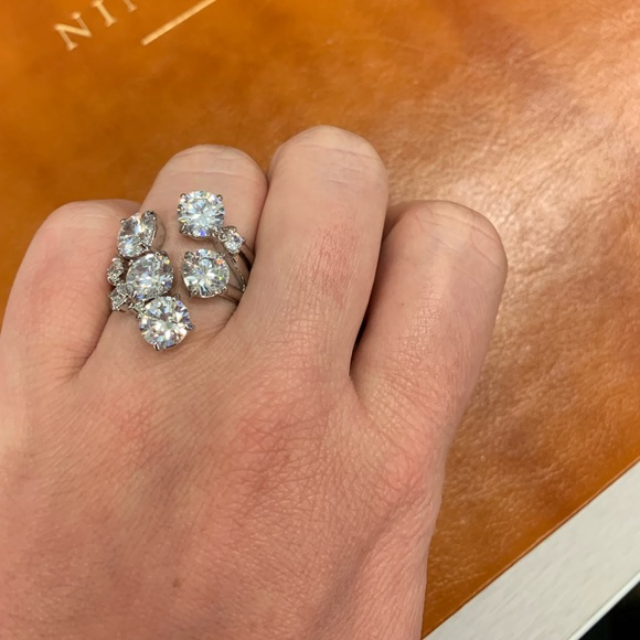 Chloe + Isabel Jewelry - Cocktail Hour CZ Round Cluster Ring Size 8